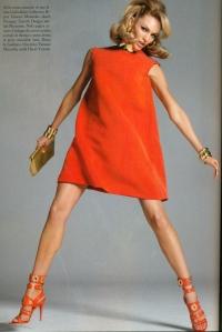 vogue italy dress